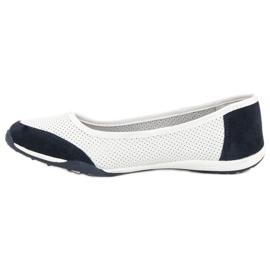 Filippo Sports ballerinas white 4