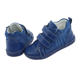 Children's medical shoes with velcro Ren But 1429 blue 5