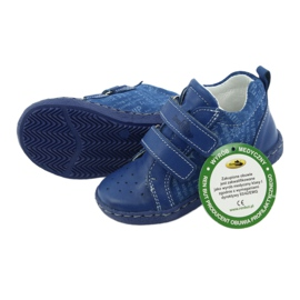 Children's medical shoes with velcro Ren But 1429 blue 4