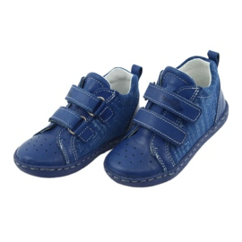 Children's medical shoes with velcro Ren But 1429 blue 3