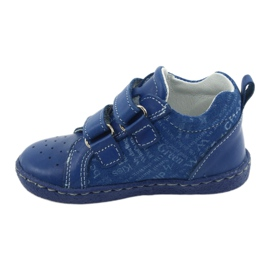 Children's medical shoes with velcro Ren But 1429 blue 2