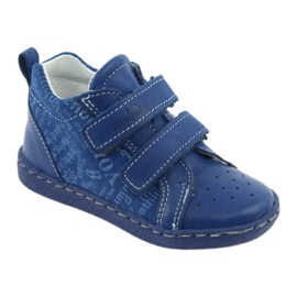 Children's medical shoes with velcro Ren But 1429 blue 1