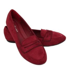 Ballerina moccasins JM6655Q Burdeo red 3