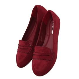 Ballerina moccasins JM6655Q Burdeo red 1