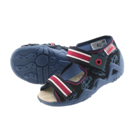 Befado yellow children's shoes 350P003 navy 6