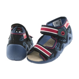 Befado yellow children's shoes 350P003 navy 5