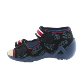 Befado yellow children's shoes 350P003 navy 3
