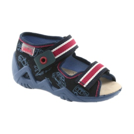 Befado yellow children's shoes 350P003 navy 2