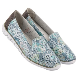 Filippo Fashionable Leather Lords grey 2