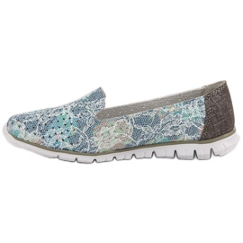 Filippo Fashionable Leather Lords grey 4