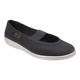 Befado children's shoes komf. up to 23 cm 274Y005 navy 1