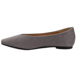 Seastar Gray Suede Ballerinas grey 4