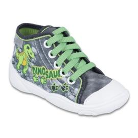 Befado children's shoes 218P058 grey green 1