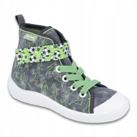 Befado children's shoes 268X070 grey green 1