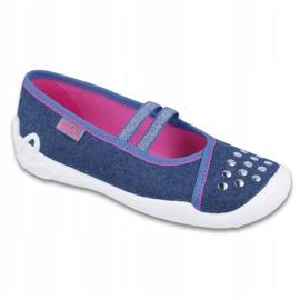 Befado children's shoes 116Y253 navy blue 1