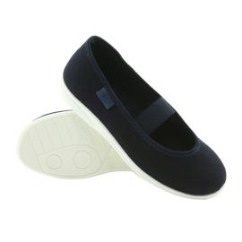 Befado children's comfort shoes 274Y005 navy 3