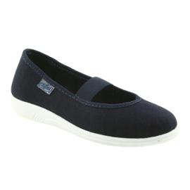 Befado children's shoes komf. up to 23 cm 274Y005 navy 2