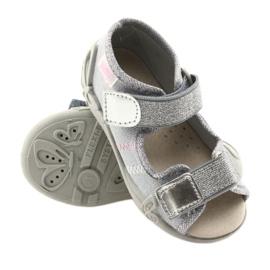 Befado children's shoes 342P002 silvery grey 3