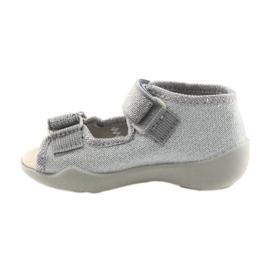 Befado children's shoes 342P002 silvery grey 2