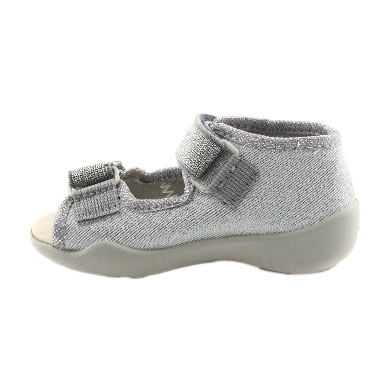 Grey Befado children's shoes 342P002 silvery picture 2