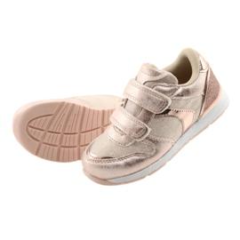 Pink Sneakers American Club ES25 gold 5