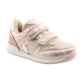 Pink Sneakers American Club ES25 gold 1