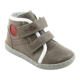 Boys' shoes Ren But 1423 gray grey red 1
