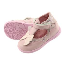 Ren But Ballerinas for girls with bow Ren 1466 pink 5