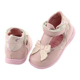 Ren But Ballerinas for girls with bow Ren 1466 pink 4