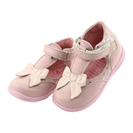 Ren But Ballerinas for girls with bow Ren 1466 pink 3