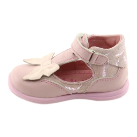 Ren But Ballerinas for girls with bow Ren 1466 pink 2