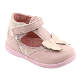 Ren But Ballerinas for girls with bow Ren 1466 pink 1