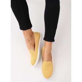 Yellow slip-on sneakers 784 Yellow 3