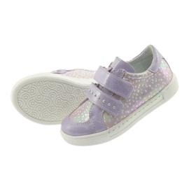 Ren But Boots for Velcro Butt 3229 light purple violet grey yellow 5
