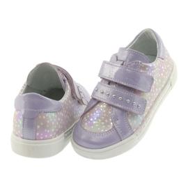 Ren But Boots for Velcro Butt 3229 light purple violet grey yellow 4