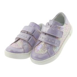 Ren But Boots for Velcro Butt 3229 light purple violet grey yellow 3