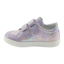 Ren But Boots for Velcro Butt 3229 light purple violet grey yellow 2