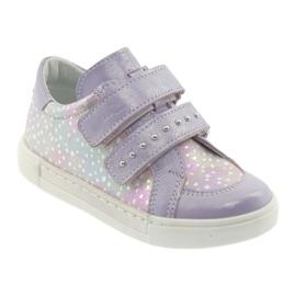 Ren But Boots for Velcro Butt 3229 light purple violet grey yellow 1