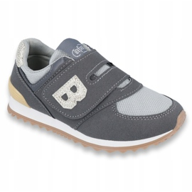Befado children's shoes up to 23 cm 516Y040 grey 1