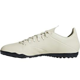 Adidas X Tango 18.4 Tf M DB2478 football shoes white white 2