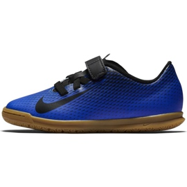 Indoor shoes Nike Bravatia Ii V Ic Jr 844439-400 blue blue 2