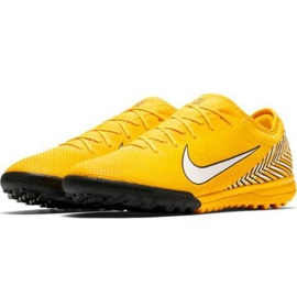 Nike Mercurial Vapor 12 Pro Neymar Tf AO4703-710 Football Boots yellow yellow 2