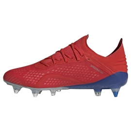 Football shoes adidas X 18.1 Sg M BB9359 red red 1