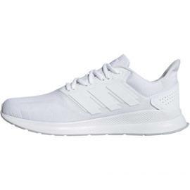 Running shoes adidas Runfalcon M F36211 white 2