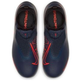 Shoes Nike Phantom Vsn Academy Df Fg Jr AO3287-440 blue navy 2