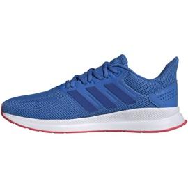 Running shoes adidas Falcon M F36207 blue 1