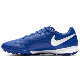 Football shoes Nike Tiempo Lunar LegendX 7 Pro 10R Tf M AQ2212-410 blue blue 1