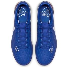 Football shoes Nike Tiempo Lunar LegendX 7 Pro 10R Tf M AQ2212-410 blue blue 2