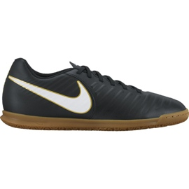 Indoor shoes Nike TiempoX Rio Iv Ic M 897769-002 black black 1