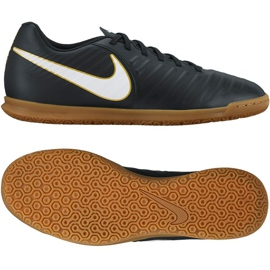 Indoor shoes Nike TiempoX Rio Iv Ic M 897769-002 black black 3
